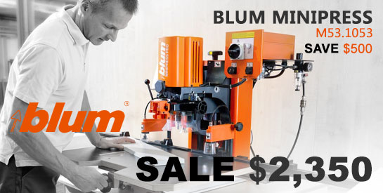 Blum Minipress Boring Machine