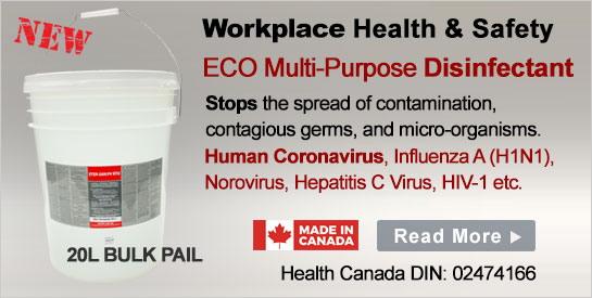 Commercial Disinfectants 20L Pail