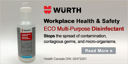 Wurth Commercial Disinfectants