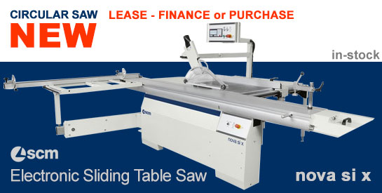 SCM Minimax si x electronic-programmed sliding table saw