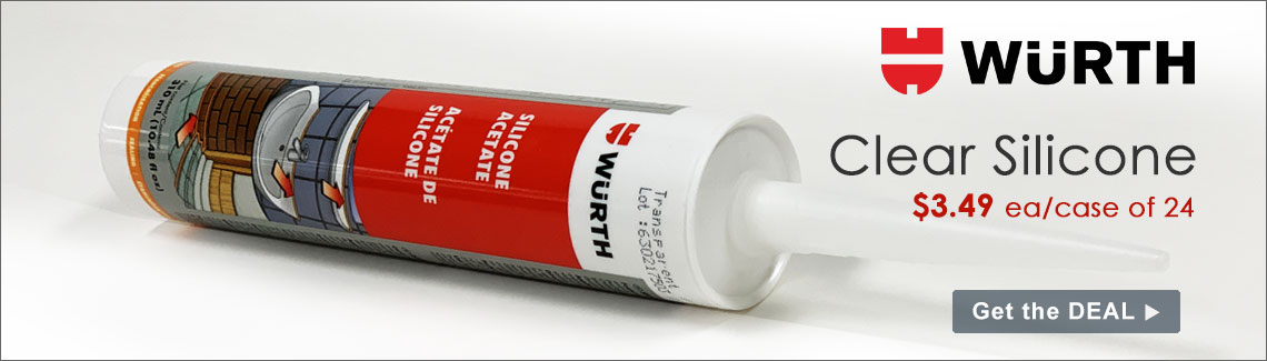 Wurth Clear Silicone Sealant