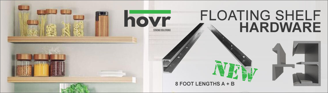 Hovr Floating Shelf Bracket Hardware
